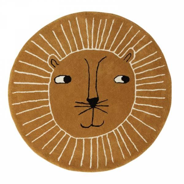 造型手工羊毛地毯-獅子王 OYOY,丹麥家居,羊毛地毯,獅子王,兒童房佈置,家飾品