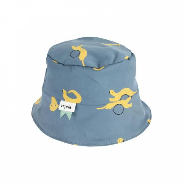 有機棉遮陽帽-俏皮鼬鼠 比利時trixie,有機棉遮陽帽,嬰幼兒帽子,吸濕透氣,頭圍48至52cm