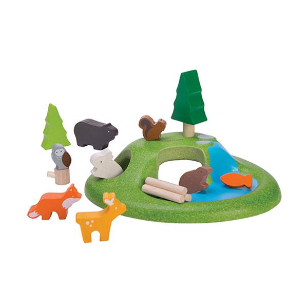 木質娃娃屋-動物森林