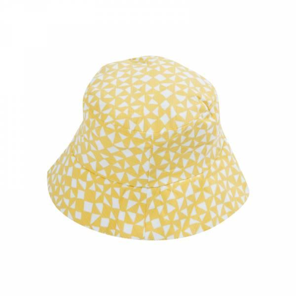 有機棉遮陽帽-金黃起司 比利時trixie,有機棉遮陽帽,嬰幼兒帽子,吸濕透氣,頭圍48至52cm