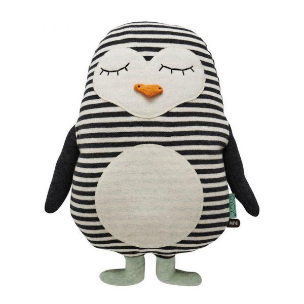 造型抱枕-冰果企鵝 OYOY,丹麥家居,企鵝,造型抱枕,針織抱枕,家飾品