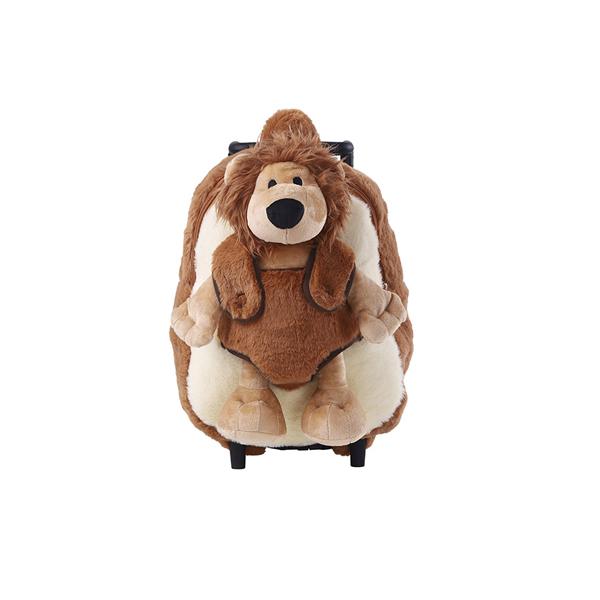 FUNDAY 小獅子拉桿背包 FUNDAY,拉桿背包,旅行袋,玩偶背包,小獅子