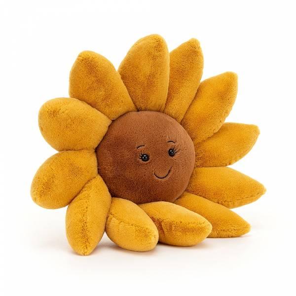 Fleury Sunflower 向日葵 jellycat,Fleury系列,向日葵,英國絨毛玩偶,送禮推薦,媽媽必敗,好萊塢明星,寶寶第一個好朋友