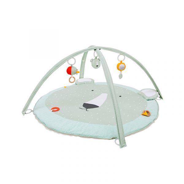 多功能感統遊戲墊-可愛北極熊 比利時trixie,感統遊戲墊,五感刺激,多功能軟墊,幼兒發展