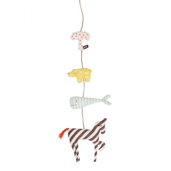 MINI安撫吊飾-魔力動物園 OYOY,丹麥家居,安撫吊飾,嬰兒床吊飾,兒童房佈置,家飾品