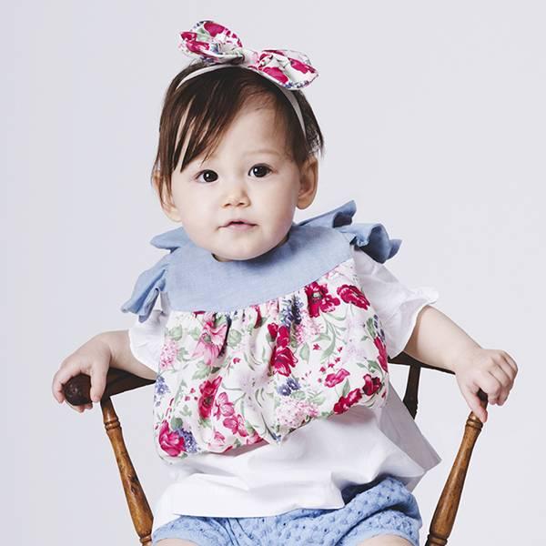 可愛造型圍兜/口水巾(鄉村女孩) 圍兜,口水巾,純棉,日本製,造型,送禮自用