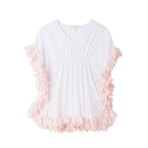 小花瓣罩衫(粉)