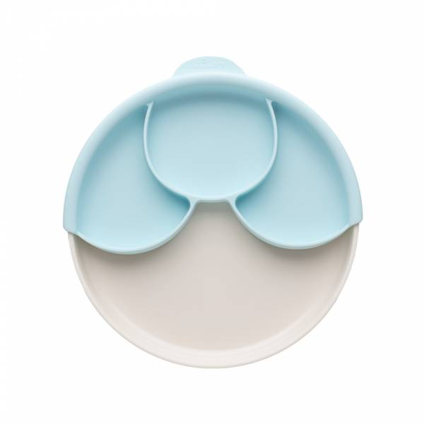 天然聚乳酸聰明分隔餐盤組(香草薄荷)