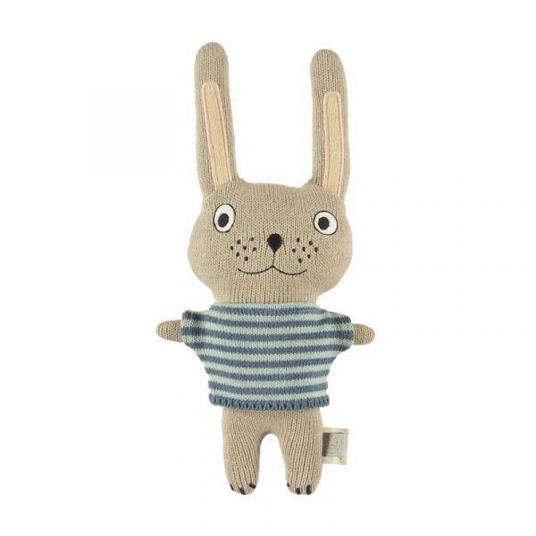 寶貝造型抱枕-菲力小兔 OYOY,丹麥家居,菲力小兔,造型抱枕,針織抱枕,家飾品