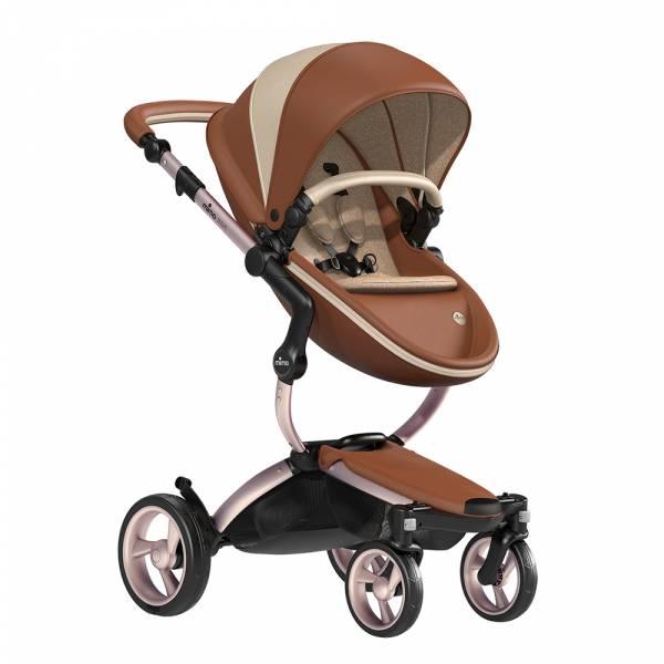 xari 頂級嬰兒推車-世界限定款(莫斯科) 西班牙mima,xari頂級嬰兒推車,戰車型推車,環保皮革面料,2in1內置提籃,氣壓式踏板煞車