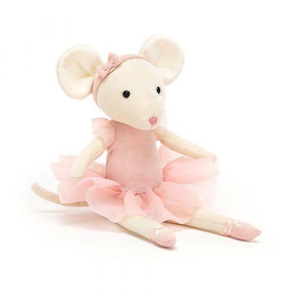 Pirouette Mouse Candy 跳舞小老鼠(粉 27cm)