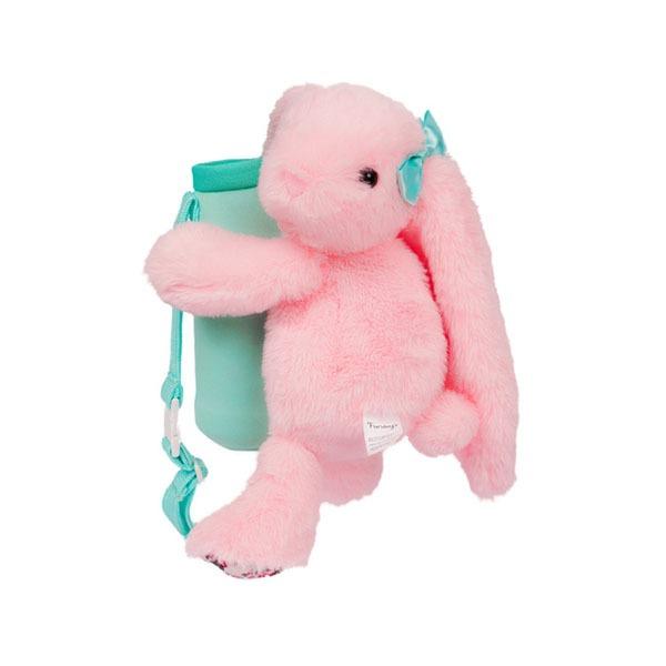 FUNDAY 抱抱小兔子水壺袋(粉)