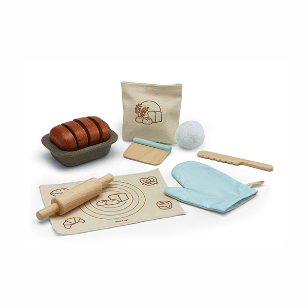 小主廚-全麥吐司烘焙組 泰國,天然橡膠木,烘焙組,吐司,小主廚
