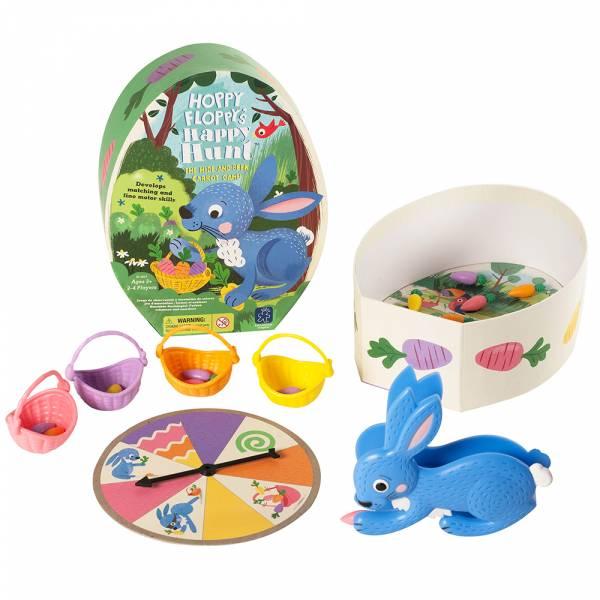 兔兔的快樂野餐 美國Educational Insights,益智桌遊,親子互動,手眼協調