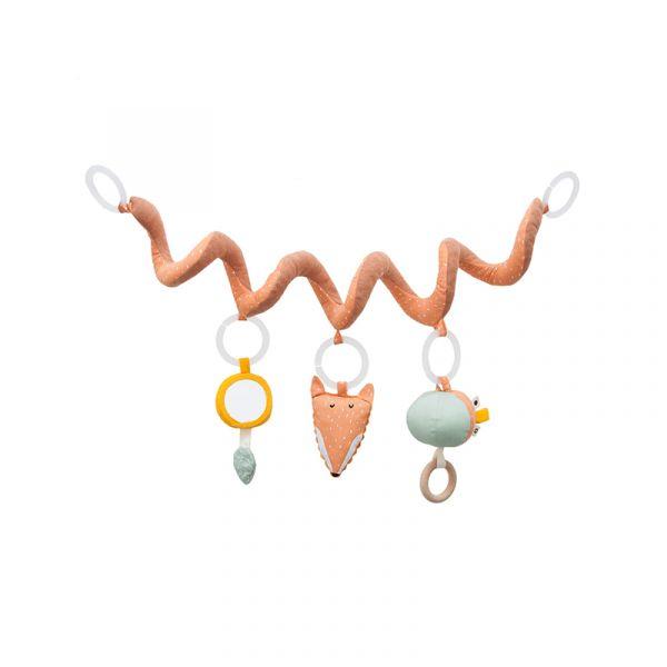 捲捲多功能安撫玩具-聰明狐狸 比利時trixie,嬰幼兒玩具,五感玩具,安撫玩具,多功能玩具