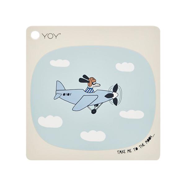 方形矽膠餐墊-夢想探險 OYOY,丹麥家居,夢想探險,矽膠餐墊,餐桌美學,家飾品,易清洗