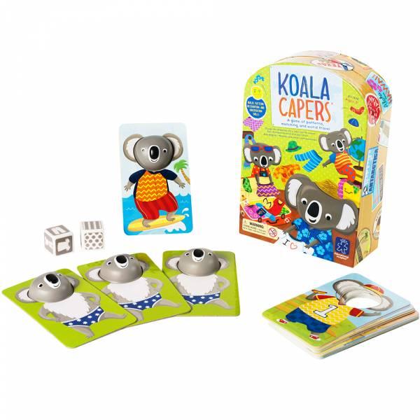 無尾熊換裝秀 益智桌遊,親子互動,手眼協調