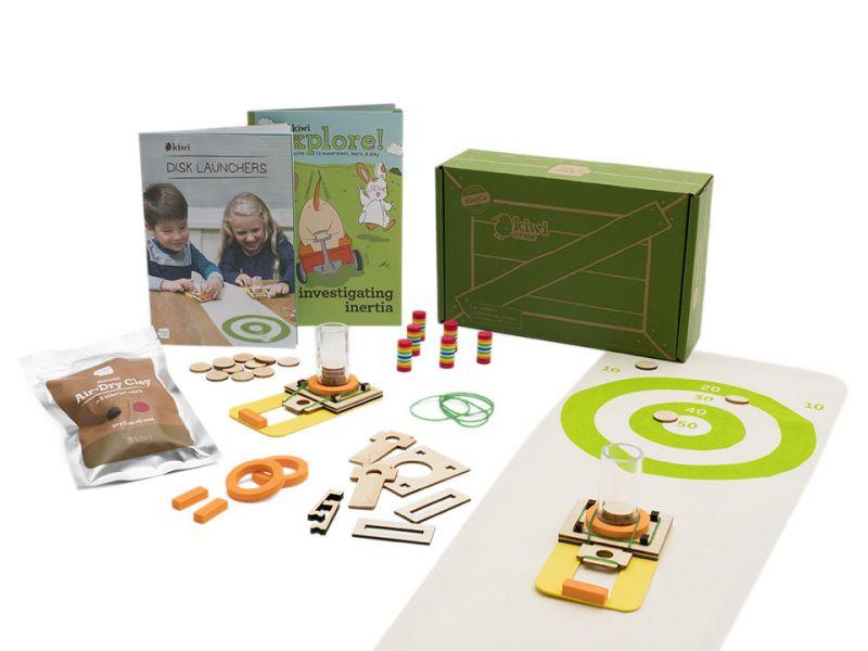 Kiwi Crate 奇異鳥箱-DIY飛鏢靶盤 美國KiwiCo,STEAM,適合年齡5-8歲,兒童手作