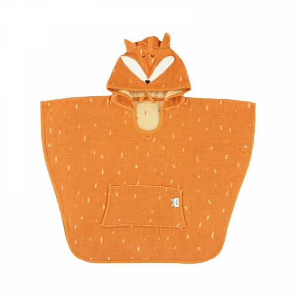 動物造型有機棉連帽斗篷-聰明狐狸 比利時trixie,有機棉斗篷,動物造型斗篷,嬰幼兒連帽斗篷,吸水力極佳