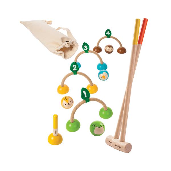 經典木作童玩-槌球組