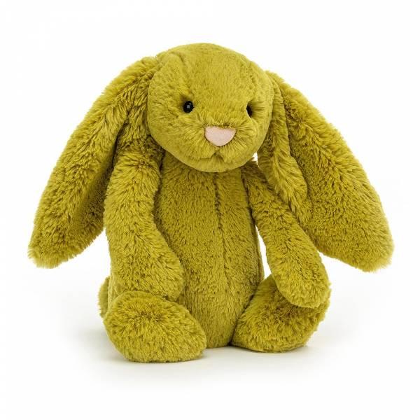 Bashful Zingy Bunny 萊姆綠兔(31cm) jellycat,Bashful Bunny,兔子,英國絨毛玩偶,送禮推薦,媽媽必敗,好萊塢明星,寶寶第一個好朋友