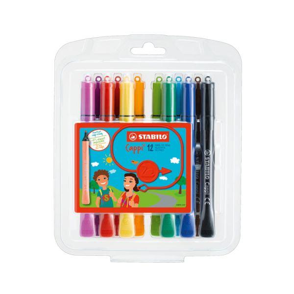 STABILO思筆樂 Cappi 人體工學圈圈樂彩色筆