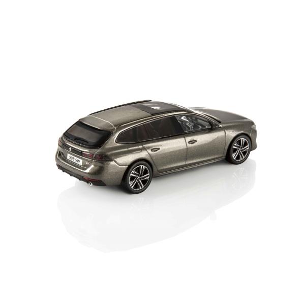 (代購) 508 SW GT 亞麻灰 1:43 模型車 PEUGEOT, 寶獅, 模型車