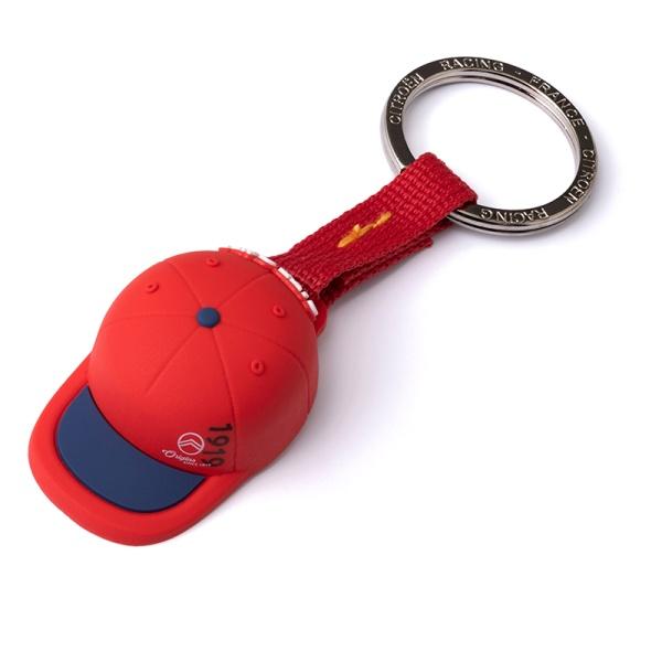 WRC 立體棒球帽造型鑰匙圈 CITROEN,CITROËN, 雪鐵龍
