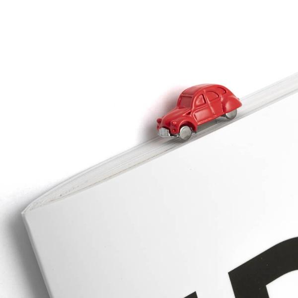 2CV 3D立體造型金屬書籤 - 紅 CITROËN, 2CV, 書籤