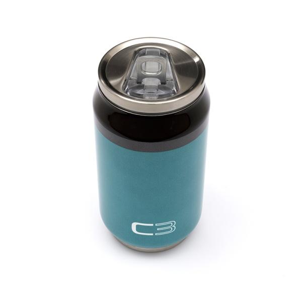 (代購) C3 藍色罐頭造型保溫杯 CITROEN, 雪鐵龍