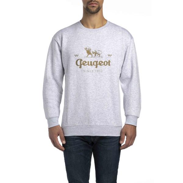 (代購) LEGEND 系列 休閒圓領衫 白色 PEUGEOT, 寶獅