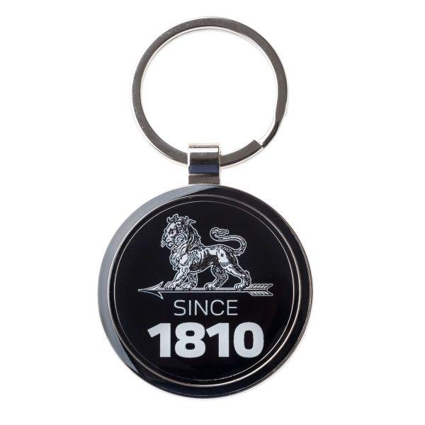 SINCE 1810 紀念黑色琺瑯鑰匙圈 PEUGEOT, 鑰匙圈