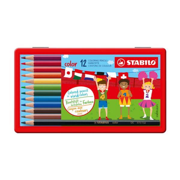 STABILO思筆樂 Color 炫彩樂油性色鉛筆