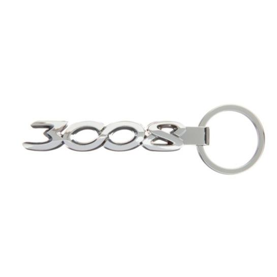 3008 金屬鑰匙圈 PEUGEOT, 寶獅, 鑰匙圈