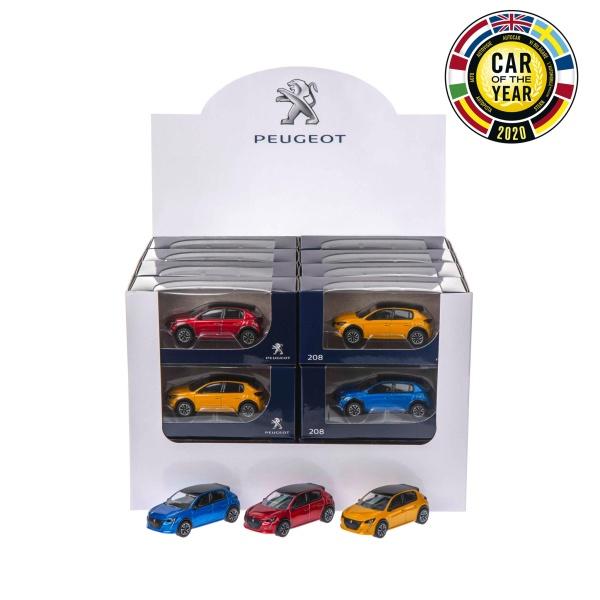 208 迷你模型車 PEUGEOT, 寶獅, 模型車