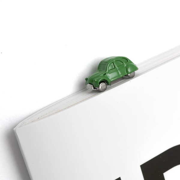 2CV 3D立體造型金屬書籤 - 綠 CITROËN, 2CV, 書籤