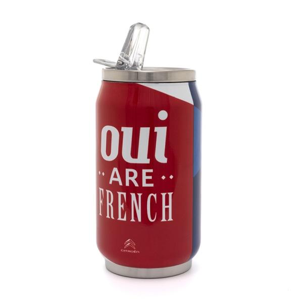 (代購) OUI ARE FRENCH 罐頭造型保溫杯 CITROEN, 雪鐵龍