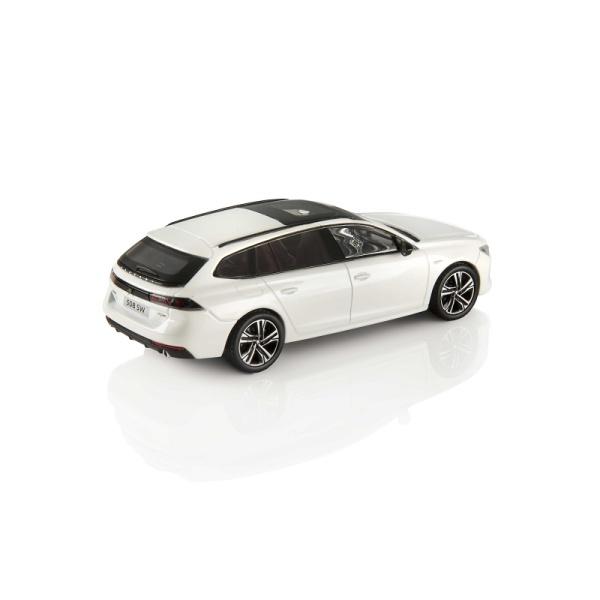 508 SW GT 珍珠白 1:43 模型車 PEUGEOT, 寶獅, 模型車