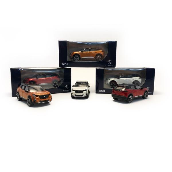 2008 迷你模型車 PEUGEOT, 寶獅, 模型車