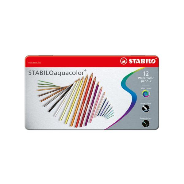 STABILO思筆樂 aquacolor水彩樂色鉛筆