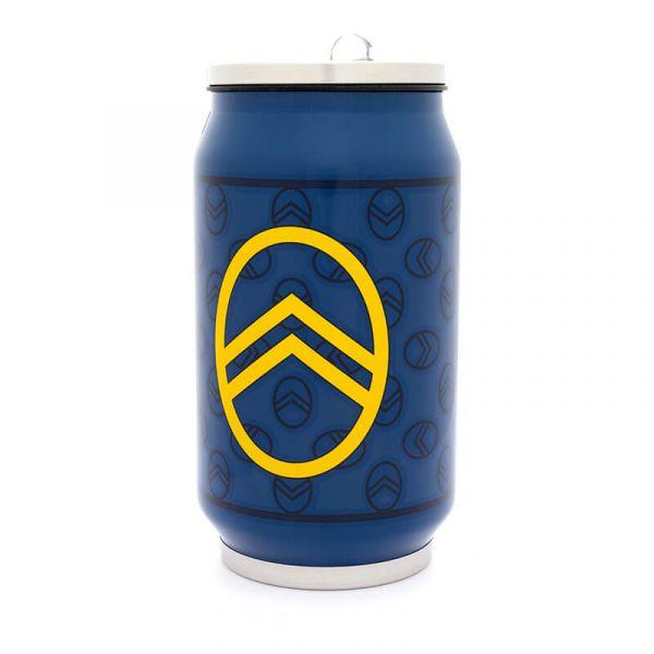(代購) CITROËN 百周年紀念廠徽 罐頭造型保溫杯 CITROEN, 雪鐵龍