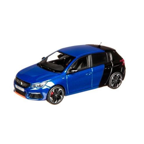 308 GTi 電磁藍x珍珠黑 1:43 模型車  PEUGEOT, 寶獅, 模型車