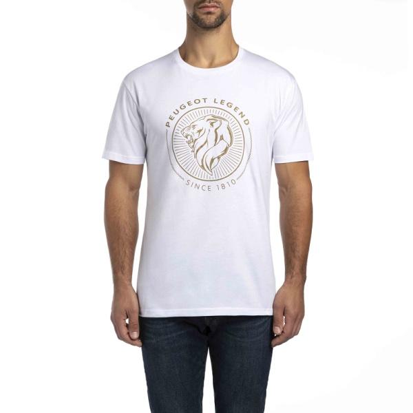 (代購) LEGEND 系列 T-Shirt 2018款 白色 PEUGEOT, 寶獅