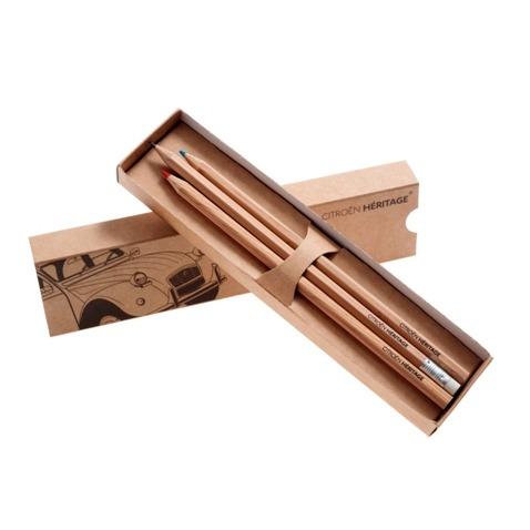 CITROËN HERITAGE 鉛筆及色鉛筆組 CITROEN, CITROËN, 雪鐵龍, 鉛筆