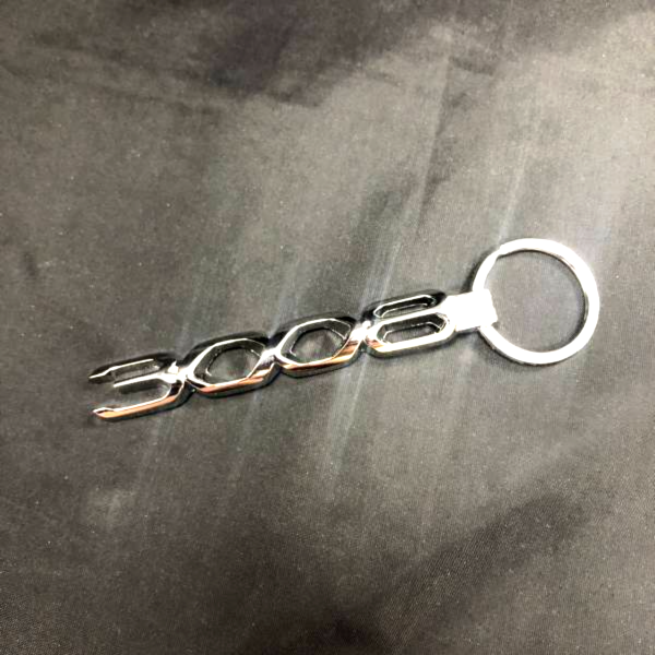 3008 車型金屬鑰匙圈 PEUGEOT, 寶獅, 鑰匙圈