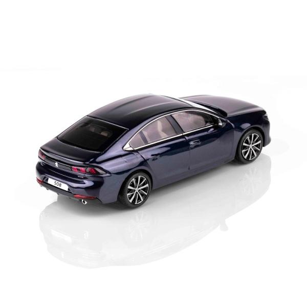 (代購) 508 墨水藍 1:43 模型車 PEUGEOT, 寶獅, 模型車