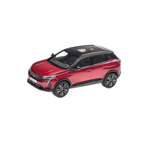 3008 GT 2020 烈焰紅 1:43 模型車 PEUGEOT, 寶獅, 模型車