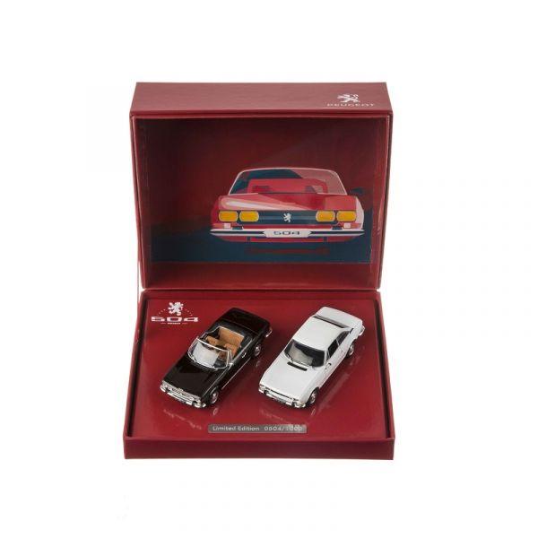 (代購) 504 COUPE + CABRIOLET 1:43 模型車禮盒 PEUGEOT, 寶獅, 模型車