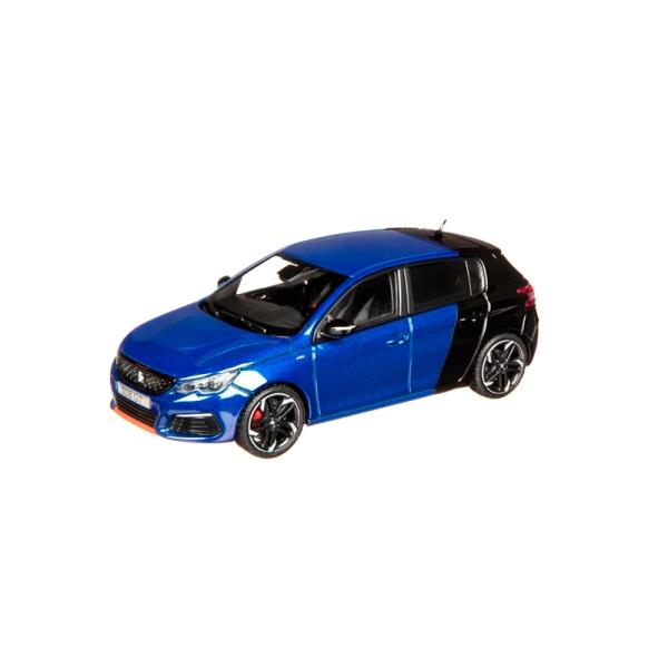 (代購) 308 GTi 2017 電磁藍x珍珠黑 1:43 模型車