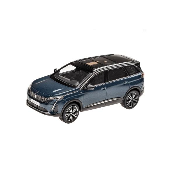 5008 GT 2020 蒼穹藍 1:43 模型車 PEUGEOT, 寶獅, 模型車